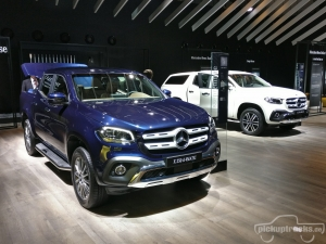 Mercedes X-Klasse Pickup Forum